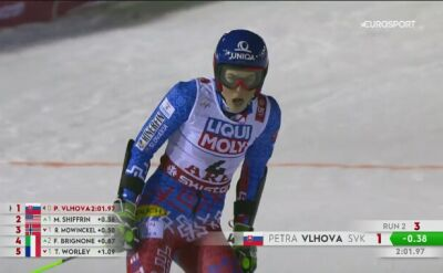 Vlhova mistrzynią świata w slalomie gigancie