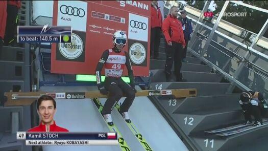 Stoch na podium po pierwszej serii