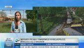 Policja o wypadku pociągu towarowego w Wielkopolsce