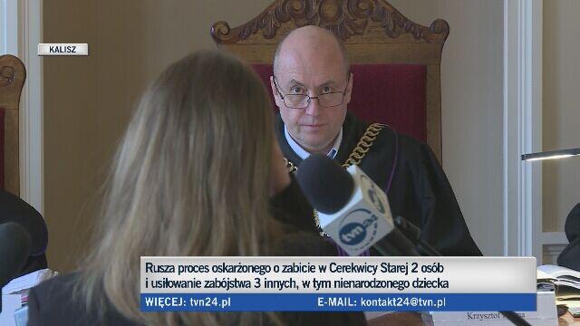 """""""Napastnik wpadł przez szybę (...) Zadał mi cios w plecy"""""""