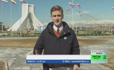 Irańskie święto i konferencja w Warszawie. Relacja TVN24