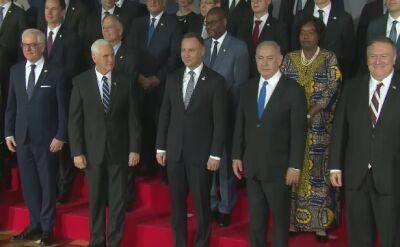 W Warszawie delegacje z kilkudziesięciu krajów. Rusza konferencja bliskowschodnia