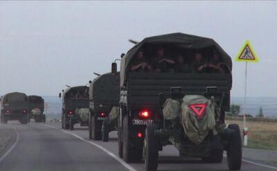 Rosyjska artyleria w ruchu