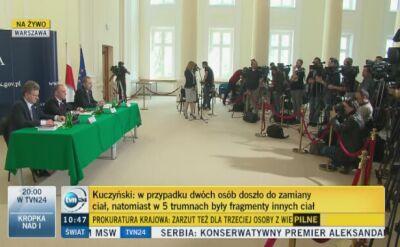 Kuczyński: planujemy, że ekshumacje zakończą się do końca czerwca 2018 roku