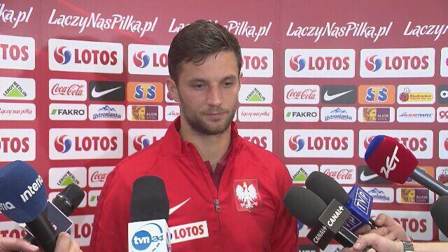 Bartosz Bereszyński o grze na lewej obronie w kadrze