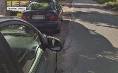 Pijany kierowca miał butelkę wódki w samochodzie