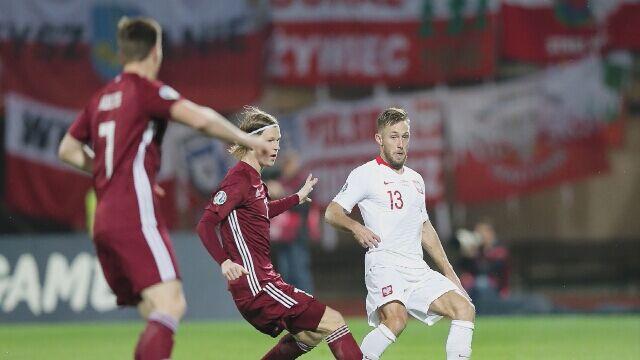 Łotwa - Polska w meczu eliminacji Euro 2020