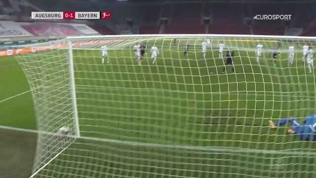 Skrót meczu Augsburg - Bayern Monachium w 17. kolejce Bundesligi