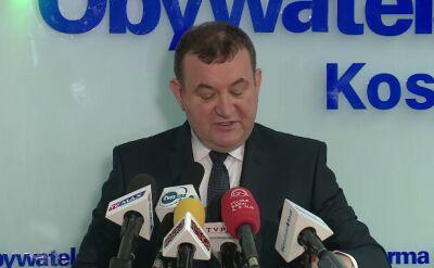 Gawłowski: w wymiarze publicznym jestem już skazany
