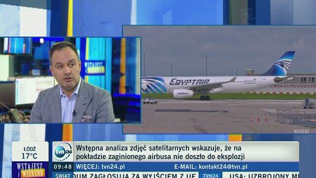 Samolot EgyptAir runął do morza