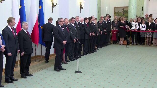Prezydent odznaczył zasłużonych dla Polski