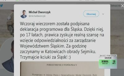 Polityczne trzęsienie ziemi na Śląsku. W sejmiku rządzić będzie PiS