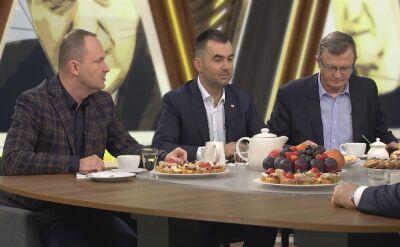 """Politycy w """"Kawie na ławę"""" dyskutowali o działaniach ABW i prokuratury dotyczących operatora TVN"""
