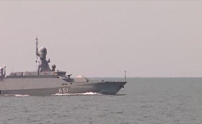 Rosyjskie korwety typu Bujan-M są uzbrojone między innymi w rakiety Kalibr