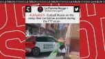 Zniszczony samochód Euskadi, radość Astany. Media społecznościowe po 1. etapie Vuelty