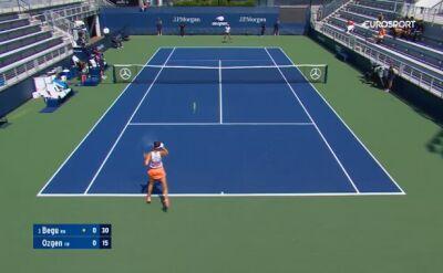 Skrót meczu Begu - Ozgen w 1. rundzie kwalifikacji do US Open