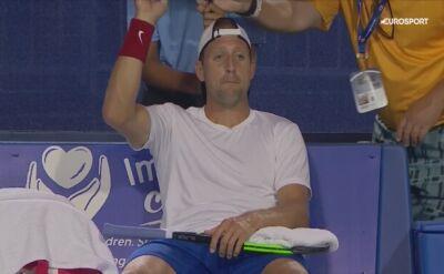 Skrót meczu Sandgren - Murray w 1. rundzie turnieju ATP w Winston-Salem