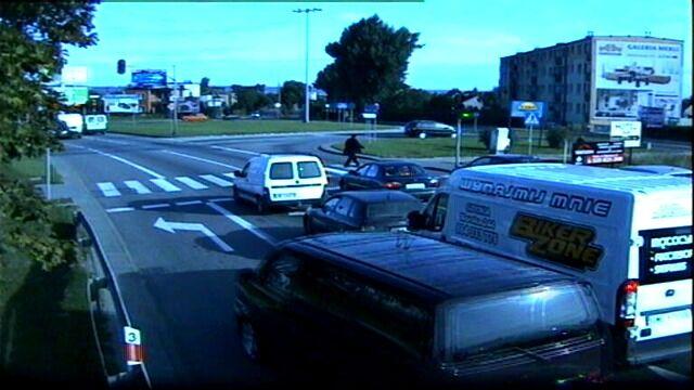Bus przejechał na czerwonym świetle
