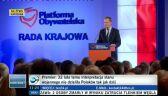 """Tusk ogłasza koniec """"festiwalu demokracji"""" i wyznacza zadania"""