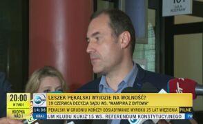 Decyzja w sprawie Pękalskiego 19 czerwca