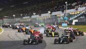 Lewis Hamilton podczas GP Eifel