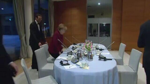 Spotkanie Angeli Merkel z opozycją