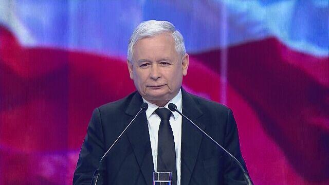 Całe wystąpienie Jarosława Kaczyńskiego