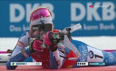 Makarainen wygrała bieg na dochodzenie, Hojnisz 21.