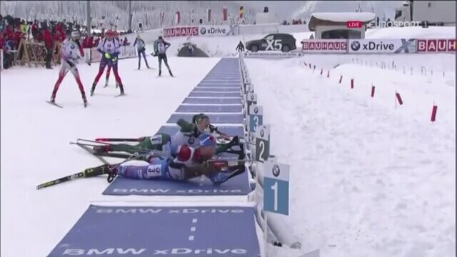 Monika Hojnisz bezbłędna w biegu pościgowym w Hochfilzen