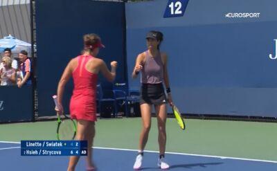 Magda Linette i Iga Świątek pożegnały się z US Open