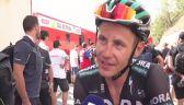Poljański po 6. etapie Vuelta a Espana