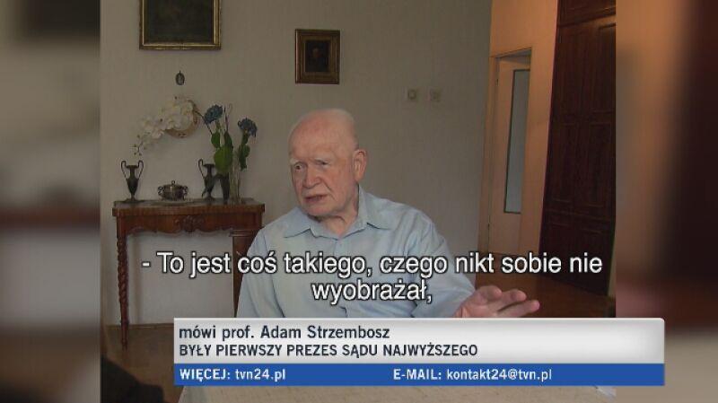 Adam Strzembsz: czegoś takiego sobie nikt nie wyobrażał
