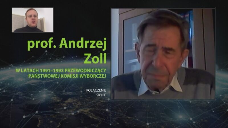 Profesor Andrzej Zoll: można powiedzieć, że te wybory są z góry nieważne