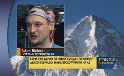 Adam Bielecki: szanse sąbardzo małe