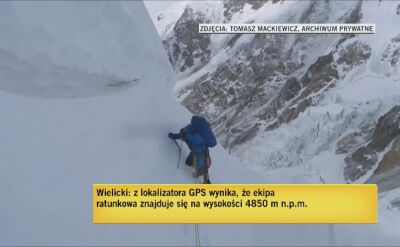 Wielicki: ekipa jest na wysokości 4850 m n.p.m