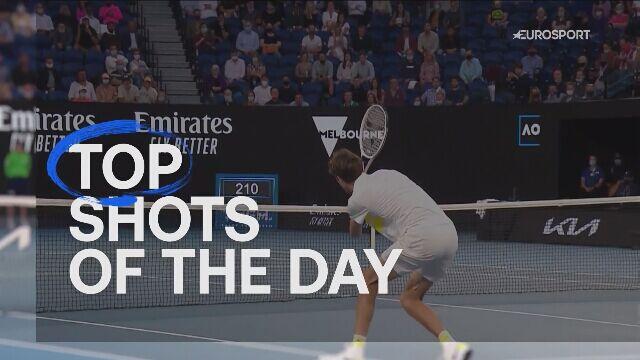 5 najlepszych akcji finału Australian Open