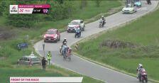 Defekt Vincenzo Albanese na 2. etapie Giro d'Italia