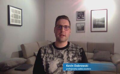 Kevin Dabrowski o byciu sędzią snookera