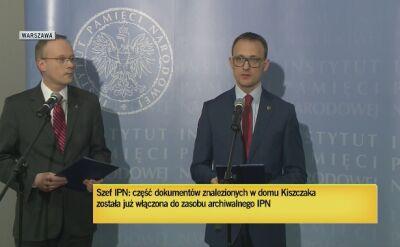 """IPN: akta TW """"Bolka"""" włączone do zasobów archiwalnych Instytutu"""