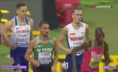 Timothy Cheruiyot najszybszy w pierwszym półfinale 1500 m