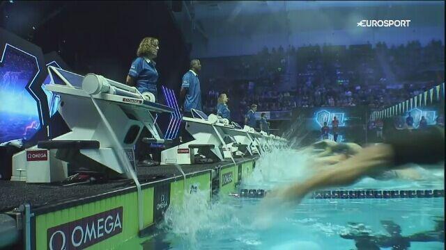 Ryłow wygrał 200 m stylem grzbietowym podczas International Swimming League w Indianapolis