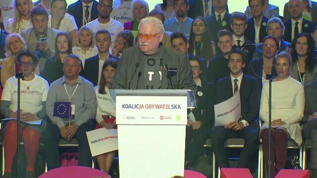 Komentarze po wystąpieniu Lecha Wałęsy
