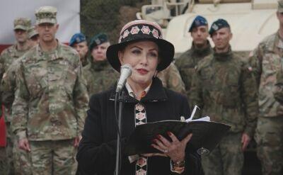 Mosbacher: żołnierze USA gotowi złożyć najwyższą ofiarę, bo wspólnie bronimy wartości