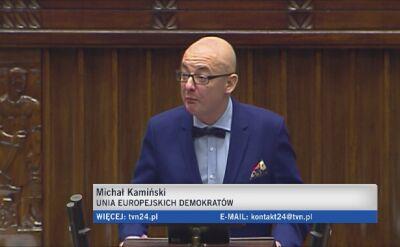 Burzliwa debata przed głosowaniem nad ostatnią ustawą autorstwa PiS o TK