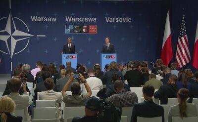 """""""Nasi sojusznicy w regionie mogąbyć pewni, że NATO będzie stało przy nich bez względu na wszystko"""""""