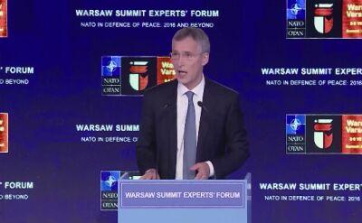 Szef NATO: to kluczowy moment w historii Sojuszu