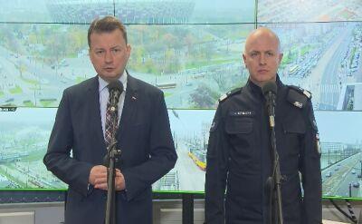 Odprawa MSWiA i Komendy Głównej Policji przed 11 listopada