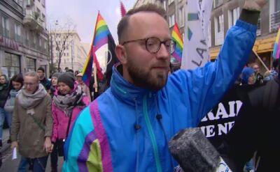 Antyfaszystowski marsz ruszył z placu Politechniki