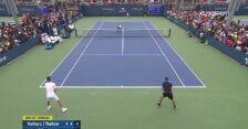 Hurkacz/Walków przegrali w tie-breaku 2. seta w 1. rundzie debla US Open