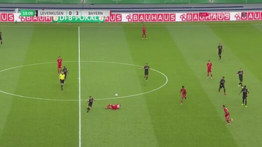 Finał Pucharu Niemiec. Bayern - Bayer 3:0 (Lewandowski)